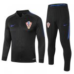 Chaqueta Croacia 2018-19 Black blue