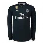 Camiseta de la 2a equipacion Real Madrid 2018-19 - Manga Larga