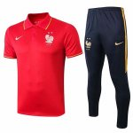 Camiseta Polo Francia 19-20 red