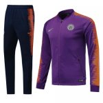 Chaqueta manchester city purple 2018 2019