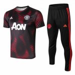 Camiseta entrenamiento Manchester United 18-19 Pattern red
