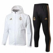 Chaqueta con capucha Real Madrid Windrunner 19-20 White