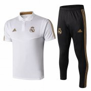 Camiseta Polo Real Madrid 19-20 Blanc