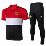 Camiseta Polo Manchester United 19-20 red