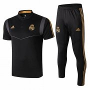 Camiseta Polo Real Madrid 19-20 Noir