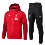 Chaqueta con capucha Liverpool Windrunner 2019-20 red