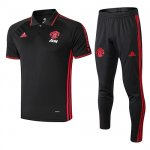 Camiseta Polo Manchester United 19-20 black