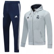 Chaqueta con capucha Real Madrid 2019-20 gray