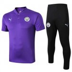 Maillot Polo Manchester City 2019-20 purple