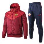 Chaqueta con capucha As Roma Windrunner 2019-20 red