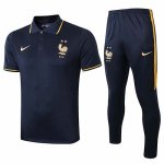 Camiseta Polo Francia 2019-20 Dark blue